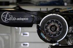 Boîte de vitesse de la Renault F1 Team