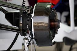 Ensemble de frein de la BMW Sauber F1 Team
