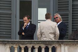 Meeting FOTA, Stefano Domenicali, Scuderia Ferrari, Martin Whitmarsh, McLaren et Flavio Briatore, Renault F1 Team