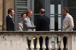 Meeting FOTA, Martin Whitmarsh, McLaren, Luca di Montezemolo et Stefano Domenicali, Scuderia Ferrari