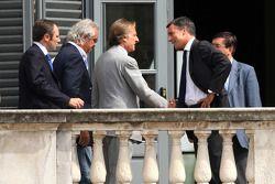 Meeting FOTA, Luca di Montezemolo, Scuderia Ferrari, Flavio Briatore, Renault F1 Team et Stefano Dom