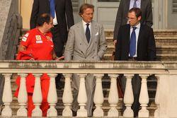 Meeting FOTA, Luca Baldisserri, Luca di Montezemolo et Stefano Domenicali, Scuderia Ferrari
