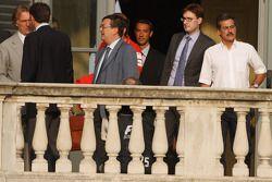 Meeting FOTA, Dr. Mario Theissen, BMW Sauber F1 Team