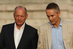 Meeting FOTA, Ron Dennis et Martin Whitmarsh, McLaren