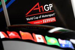 A1GP New 'Powered by Ferrari' car detail