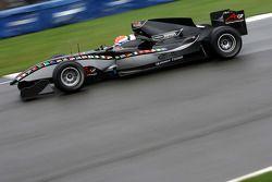 Thomas Biagi testing the A1GP 'Powered by Ferrari' Car 2008/09 testing