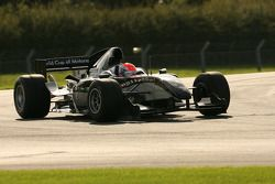 Thomas Biagi testing the A1GP 'Powered by Ferrari' Car 2008/09 testing