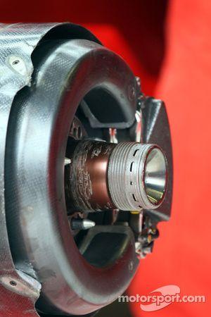 Les freins d'une Ferrari