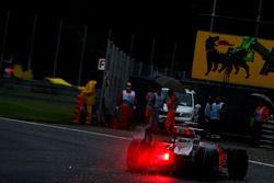 Giancarlo Fisichella, Force India F1 Team, part en tête-à-queue