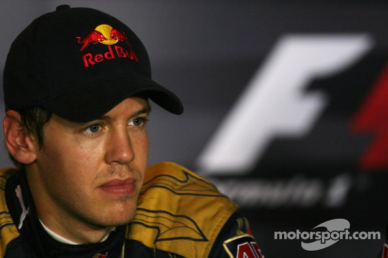 El autor de la pole Sebastian Vettel