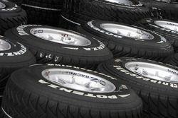 Wet bridgestone tyres