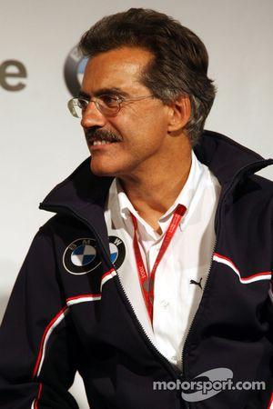 BBQ at FBMW Hospitality: Dr. Mario Theissen, BMW Sauber F1 Team