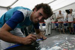 Formula One and GP2 Drivers unite for solidarity: Alberto Valerio