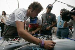 Formula One and GP2 Drivers unite for solidarity: Luca Filippi