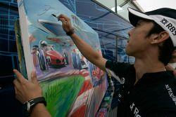Formula One and GP2 Drivers unite for solidarity: Kazuki Nakajima