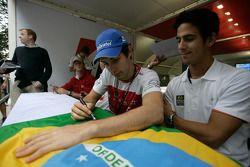 Bruno Senna and Lucas di Grassi