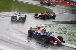 Giorgio Pantano en tête au premier tour
