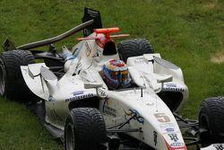 Accidente de Javier Villa, Racing Engineering, Vitaly Petrov, Campos Grand Prix y Andreas Zuber Piqu