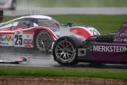 #34 Van Merksteijn Motorsport Porsche RS -Spyder: Jos Verstappen, Peter Van Merksteijn crashes