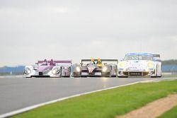 #34 Van Merksteijn Motorsport Porsche RS -Spyder: Jos Verstappen, Peter Van Merksteijn, #46 Embassy