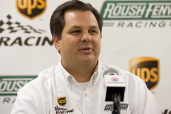 UPS/Roush Fenway Racing press conference: Ron Rogowski, director of sponsorship for UPS