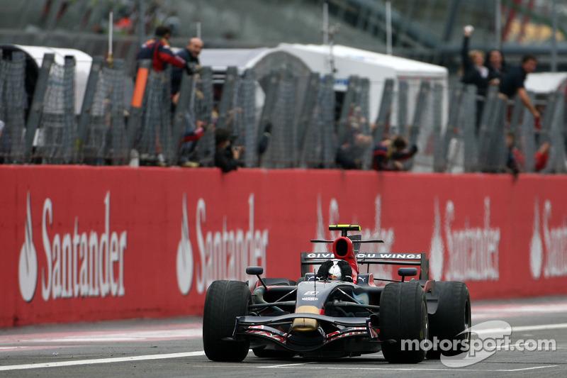 Rookie de l'année 2008 : Sebastian Vettel