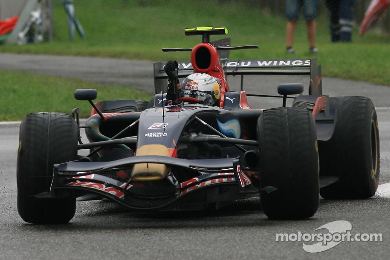 #3: Sebastian Vettel - GP da Itália de 2008 (21 anos e 73 dias)