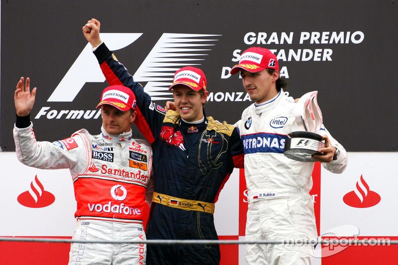 Novo pódio mais jovem da história da Fórmula 1