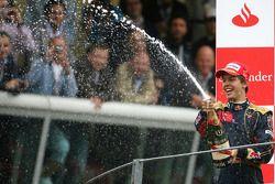 Podium: 1. Sebastian Vettel, Toro Rosso