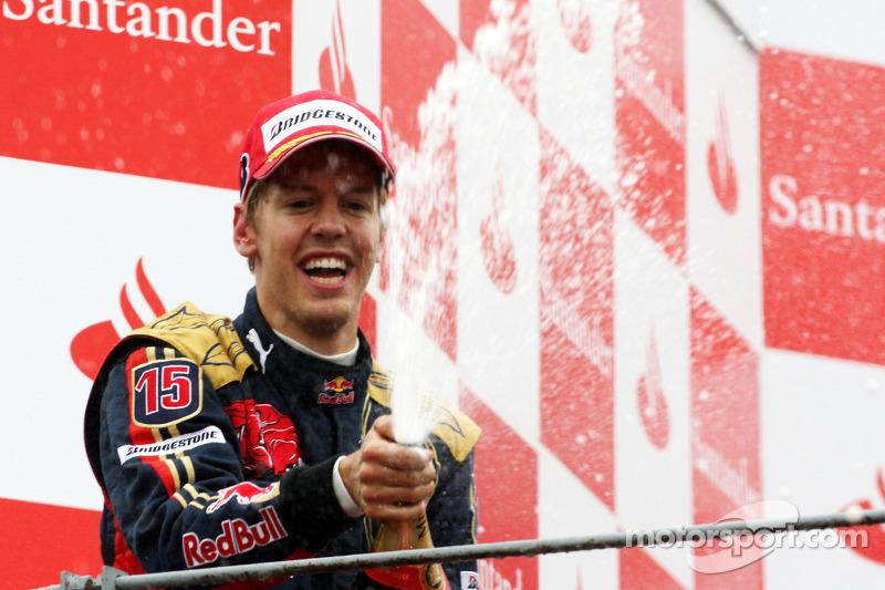 #4: Sebastian Vettel, GP de Italia 2008