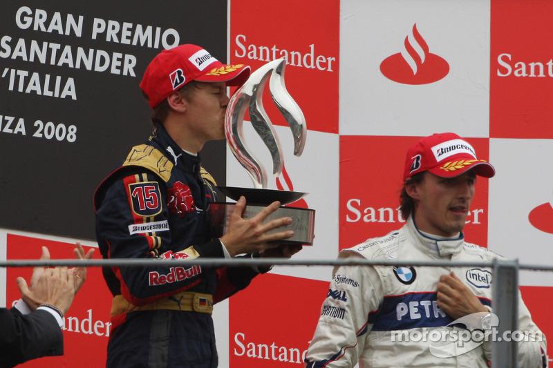 3 - سيباستيان فيتيل، تورو روسو، جائزة إيطاليا الكبرى 2008 (21 عامًا و73 يوم)