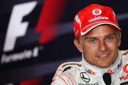Conférence de presse d'après-course: Heikki Kovalainen, deuxième