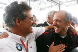 Franz Tost, Scuderia Toro Rosso, célèbre avec Dr. Mario Theissen