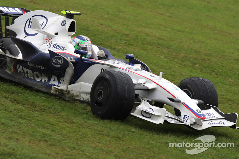 Robert Kubica, BWM Sauber - Grand Prix Włoch 2008