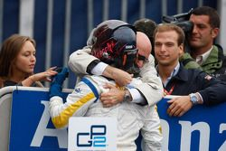Davide Valsecchi célèbre sa victoire