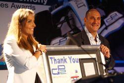 Nanni Rodriguez with Bruno Michel, GP2 Series Organiser
