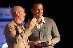 Leon Price, David Price Racing reçoit son trophée du meilleur esprit d'équipe