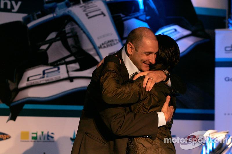 Giorgio Pantano avec Bruno Michel