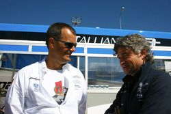 Lukas Lichtner-Hoyer and Othmar Welti, technical director Jetalliance Racing