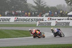 Nicky Hayden and Jorge Lorenzo