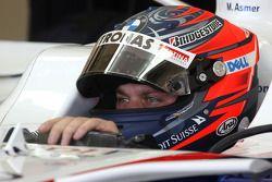 Marco Asmer, pilote d'essai, BMW Sauber F1 Team