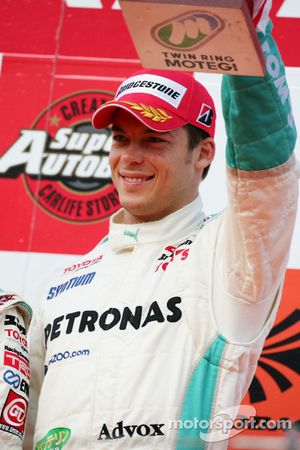 GT500 podium: third place Andre Lotterer