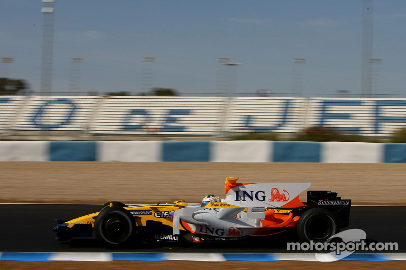 Lucas di Grassi, Testfahrer, Renault F1 Team, R28