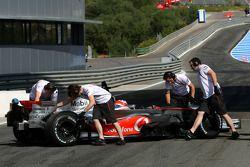 Gary Paffett, pilote d'essai, McLaren Mercedes, MP4-23