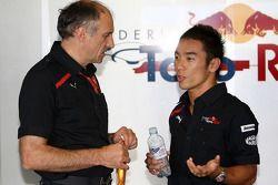 Takuma Sato avec Franz Tost, Scuderia Toro Rosso