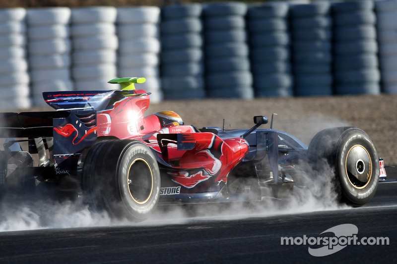 Sebastien Buemi, Test Pilotu, Scuderia Toro Rosso