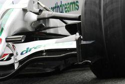 L'aileron avant de la Honda Racing F1 Team