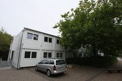 Sebastian Vettel's home town visit in Heppenheim, Germany: the Starkenburg Gymnasium of Sebastian Ve