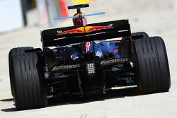Sébastien Buemi, pilote d'essai, Red Bull Racing, RB4
