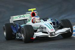 Alexander Wurz, pilote d'essai, Honda Racing F1 Team, KERS